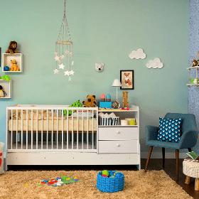 Decore o quarto do bebê com 7% OFF