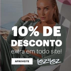 10% OFF em todo o site!