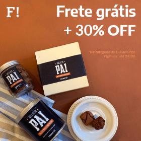 30% OFF + frete grátis