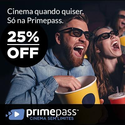 Cinema com a Primepass